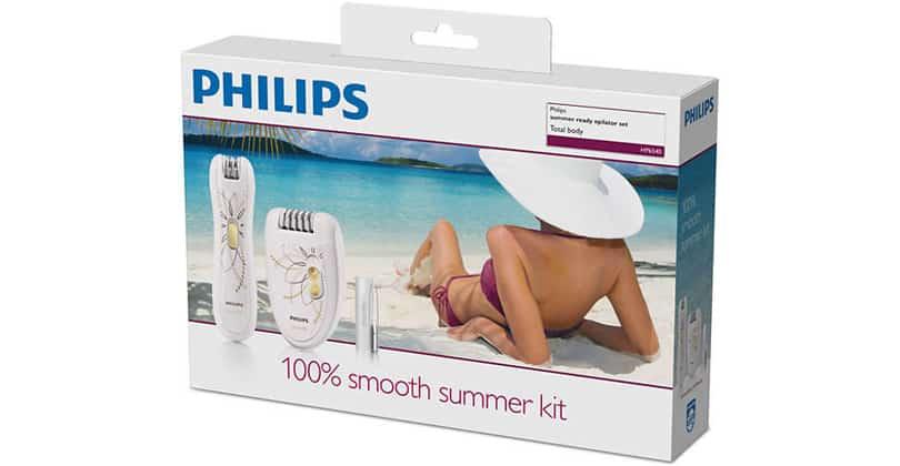 PhilipsHP6540/00: un épilateur complet et premier prix