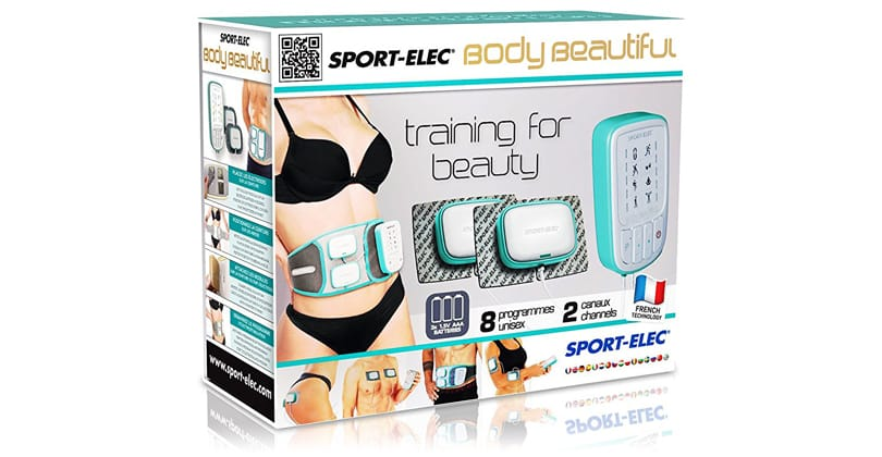 Muscler abdos et fessiers avec Sport-Elec Body Beautiful (Nouvelle Version)